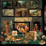 Frans Francken, Cámara de arte y curiosidades, 1636, Kunsthistorisches Museum, Viena.