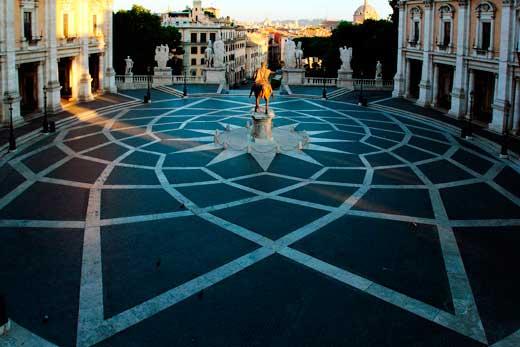 Plaza del Capitolio.