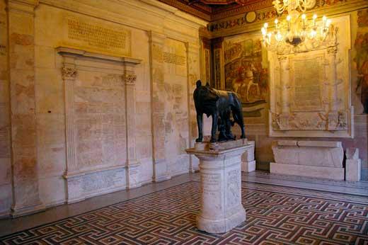 Escultura loba capitolina