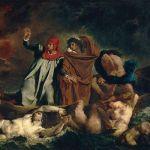 Pintura la Barca de Dante
