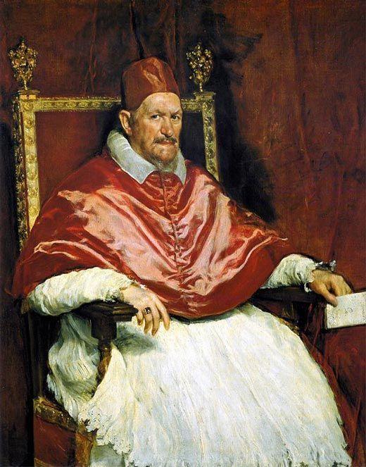 Diego Velázquez - Retrato del Papa Inocencio X