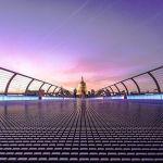 Puente del Milenio y Catedral de San Pablo