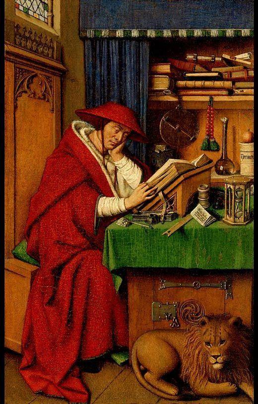 San Jerónimo en su estudio
