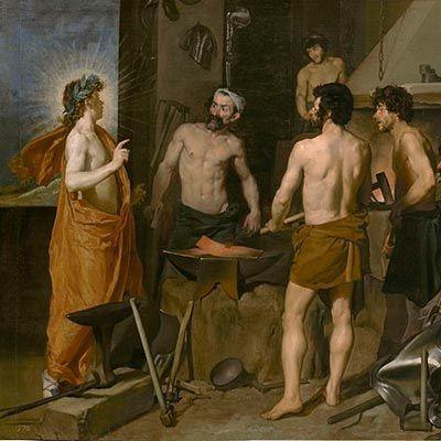 Velázquez, La Fragua de Vulcano