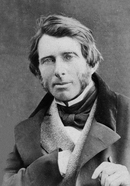 Retrato de John Ruskin