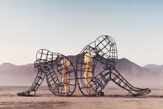 Esculturas en Desierto de Estados Unidos