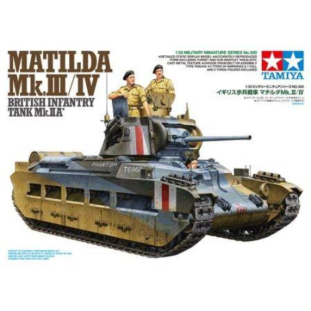 Tamiya 35300 · Matilda Mk.III/IV British Infantry Tank Mk.II A