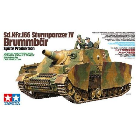 Tamiya 35353 · German Assault Tank IV Brummbär Late Production