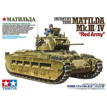 "Tamiya 35355 · Infantry Tank Matilda Mk.III/IV ""Red Army"""
