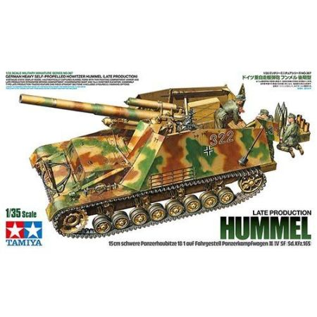 Tamiya 35367 · German Heavy Self-Propelled Howitzer Hummel (Late Production)