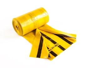 Tiger Stripe Clinical Waste Sack