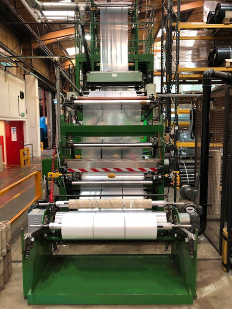 Film Extrusion at Cromwell Plastic Recycling