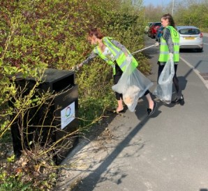 GB Spring Clean - Litter picking bags available from Cromwell Polythene