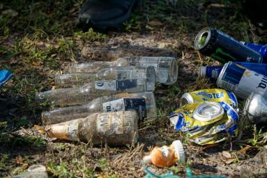 Always take your litter home to recycling responsibly