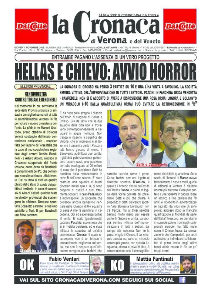 thumbnail of cronaca 1 novembre 2018