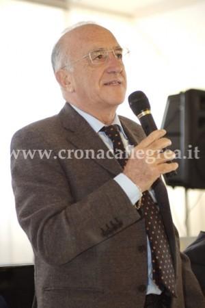 L'ex sindaco di Pozzuoli Agostino Magliulo