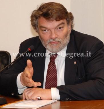 "Il coordinatore regionale di ""SOS Impresa"" Luigi Cuomo"