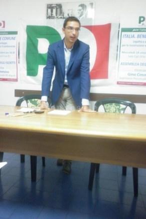 Francesco Dinacci, coordinatore locale del Pd