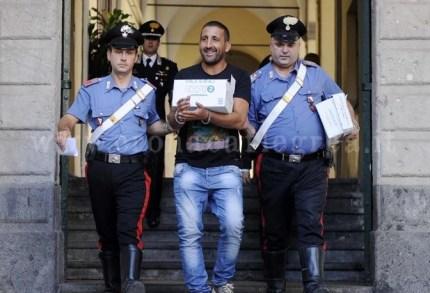 L'arresto di Salvatore Liccardi nel 2011