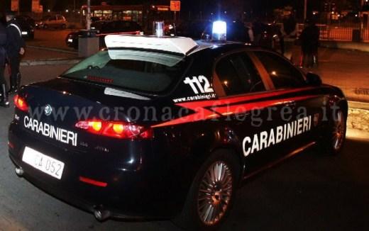Il sequestro ad opera dell'arma dei carabinieri