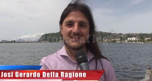 Il sindaco di Bacoli, Josi Gerardo Della Ragione