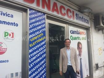 L'ex candidato sindaco Francesco Dinacci