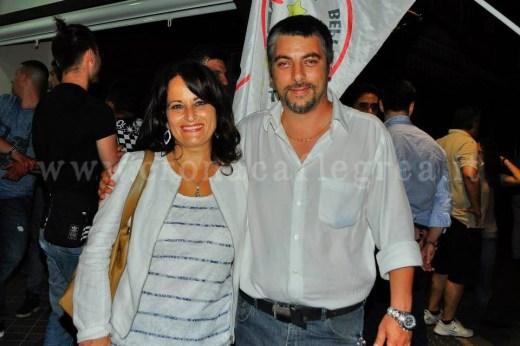 Il sindaco Rosa Capuozzo ed il suo vice Andrea Perotti
