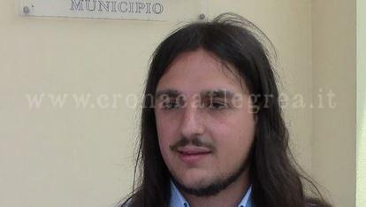 Il sindaco di Bacoli, Josi Della Ragione