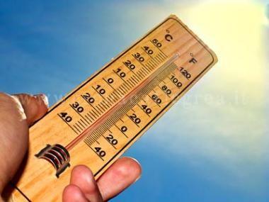 Tornano le temperature africane