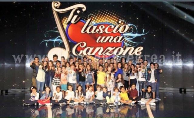 """Il cast di """"Ti Lascio una Canzone"""", programma in onda su Rai 1"""
