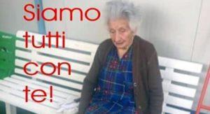 """Sfrattata (e un po' sfruttata) a 95 anni. L'Italia insorge: """"Stato, vergogna!"""". Ma se leggete bene..."""