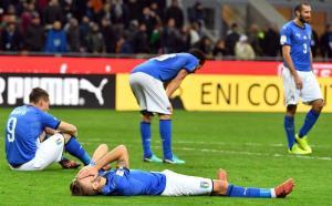 Disastro Italia, fuori dal mondiale russo: non accadeva dal 1958