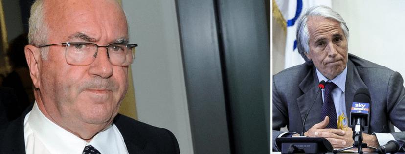 Nazionale: Tavecchio resiste, Malagò: «Fossi in lui mi dimetterei»