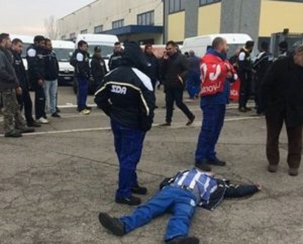 Sciopero Sda, a Modena due lavoratori investiti da un furgone