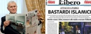 """""""Bastardi islamici"""". Belpietro, direttore de 'La Verità, assolto per il titolo di Libero"""