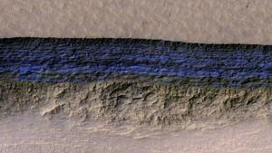 Marte, rintracciati depositi di ghiaccio: costituiscono preziose riserve d'acqua