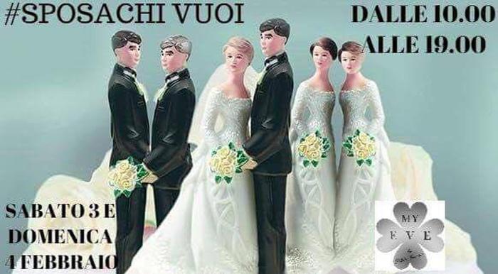 """""""Verona Sposi"""", esplode la polemica per lo slogan #sposachivuoi: strizza l'occhio alle coppie gay"""