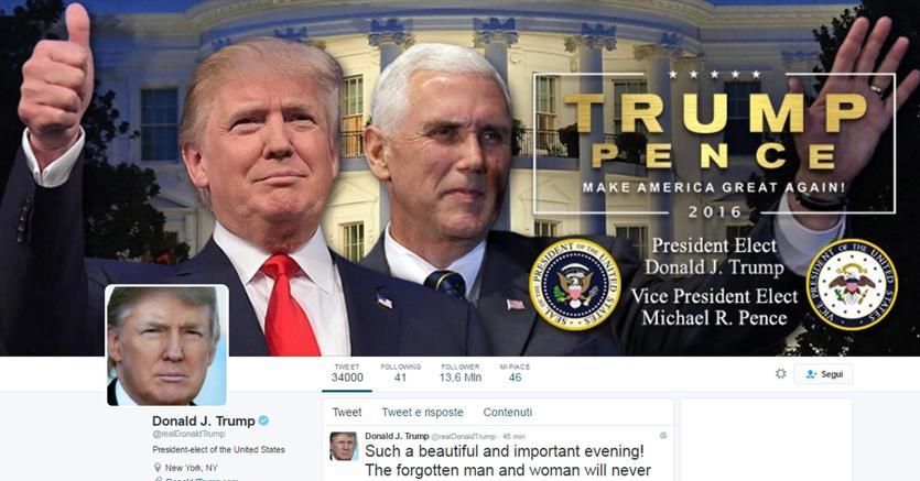 """Usa, giudice federale: """"Trump non può bloccare chi lo critica su Twitter, viola il primo emendamento"""""""