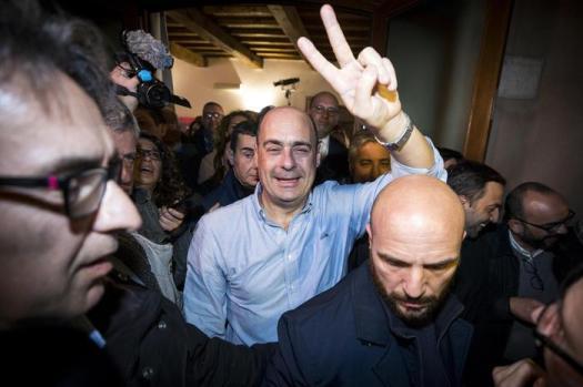 "Primarie Pd, Nicola Zingaretti segretario: ""La mia prima mossa: visiterò i cantieri Tav"""