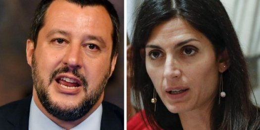 """Salvini, nuovo attacco alla Raggi: """"Inseguire i topi e svuotare cestini spetta al sindaco, non al ministro"""""""