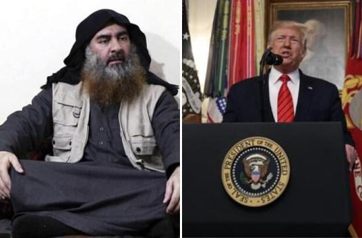 """Trump: """"Al Baghdadi è morto come un codardo. Piangeva, poi si è fatto esplodere insieme ai suoi tre figli"""""""