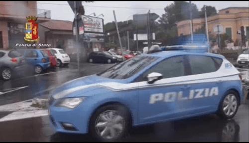 Ufficiale di polizia arrestato