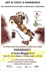 arteciocc Parabiago: Art and Ciocc, festa del cioccolato Eventi Magazine Prima Pagina Turismo