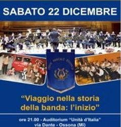 Ossona, concerto di Natale della banda