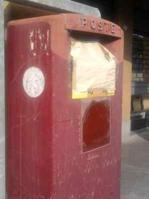 Ossona, la cassetta della posta non funziona
