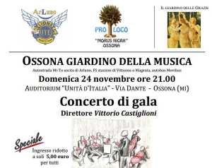 Ossona in concerto Vivaldi e Verdi in galà