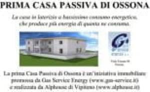 Sapevate che a Ossona c'è una casa passiva a risparmio energetico?