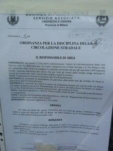 divietosostaviaroma Ossona, il cantiere delle fogne in via Rimembranze crea ansia prima ancora che inizi Piazza Litta (Ossona) Prima Pagina