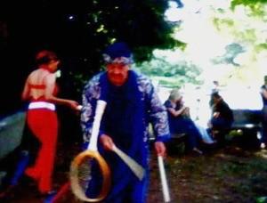 Mago Merlino alla Festa della fine della scuola con Ricreiamoci