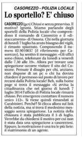 casorezzo666-168x300 Sparisce la polizia locale di Ossona e Casorezzo: è a un matrimonio Piazza Litta Prima Pagina